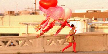 balloons running