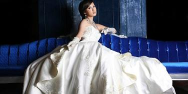 ballroom wedding dress