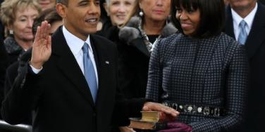 Barack & Michelle Obama, Inauguration 2013