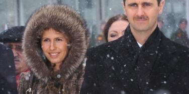 Bashar and Asma al-Asad
