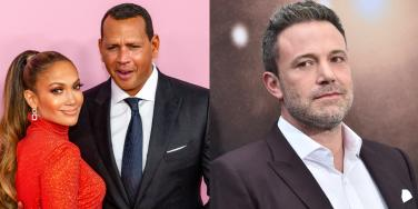 Alex Rodriguez, Jennifer Lopez and Ben Affleck