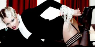 Beyonce in her 'Haunted' video. The song is featured in the teaser trailer of the '50 Shades Of Grey' movie when Christian Grey shows Ana Steele his collection of sex toys.
