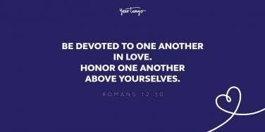 Romans 12:10 bible verse about commitment