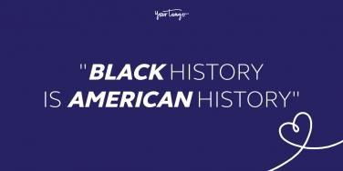 black history month quote