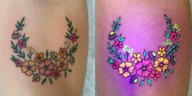 blacklight tattoo