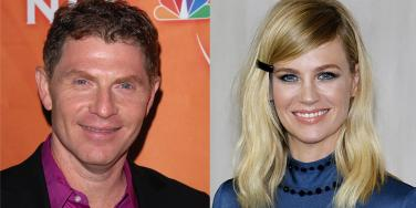 Is Bobby Flay The Father Of January Jones's Baby? An Investigation