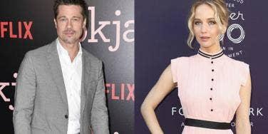 Brad Pitt, Jennifer Lawrence