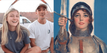 Gabby Petito Brian Laundrie and Joan of Arc