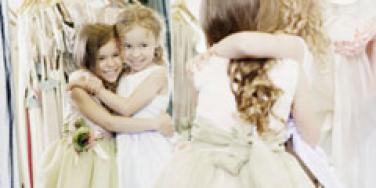 two little bridesmaids