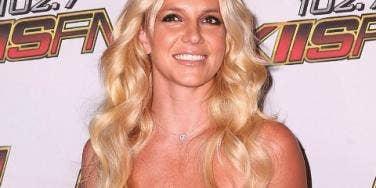 Britney Spears pink dress