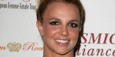 Britney Spears Celebrates Her Engagement & Flaunts Ring In Vegas