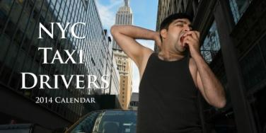 Sexy NYC Taxi Drivers Calendar