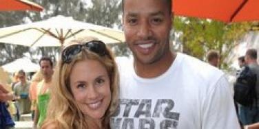 CaCee Cobb and Donald Faison are engaged