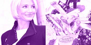 cameron diaz and fries