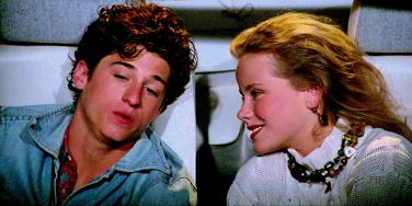 "Patrick Dempsey and Amanda Peterson in ""Can't Buy Me Love"""