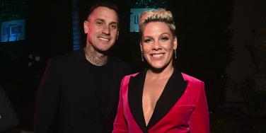 Why Pink's Husband Has A Dead Tattoo Of Her On His Arm
