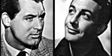 Cary Grant and Robert Taylor, 2 of the 10 More Old Hollywood Hunks We Miss