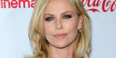 Charlize Theron up close