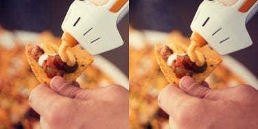 hot glue gun for cheese