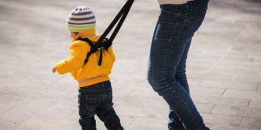 Parents Who Put Kids On Leashes Treat Them Like Dogs