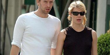 Chris Martin and Gwyneth Paltrow before their separation announcement