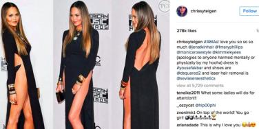 Is Chrissy Teigen's Wardrobe Malfunction A Sexy Fetish Game?