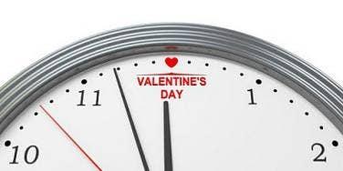valentines day clock