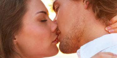 Kissing for free coffee