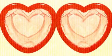 condom hearts