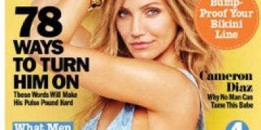 cosmo cosmopolitan magazine cameron diaz cover june 2011