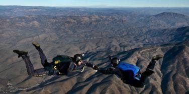 Skydiving date