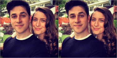 who is David Henrie's wife