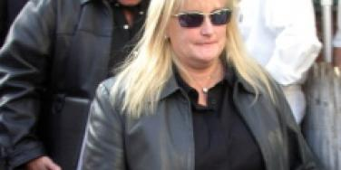 debbie rowe attend memorial service