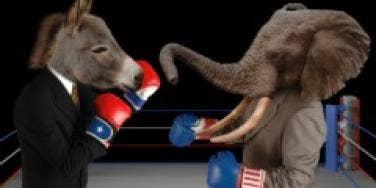 democrats republicans fight