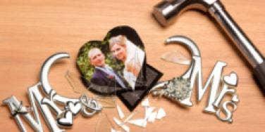 divorce broken frame
