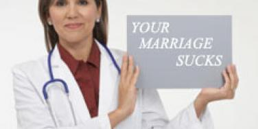 """You Might Need A """"Marriage Checkup"""""""