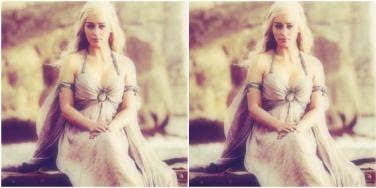 Emilia Clark in Game of Thrones