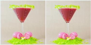 DIY Easter Candy Cocktail Recipe Made With Peeps