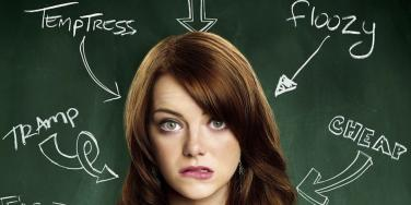 Emma Stone from Easy A
