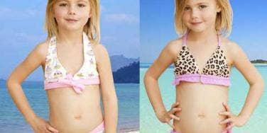 eliabeth hurley bikini line for girls
