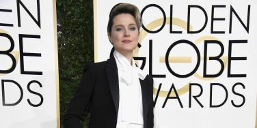 Evan Rachel Wood Makes Feminist Statement At Golden Globe Awards