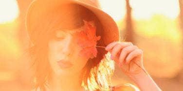 Fall Woman