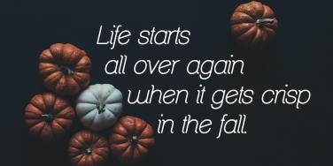 Fall quotes Autumn