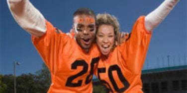 couple into football