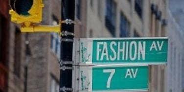seventh ave fashion avenue new york city nyc