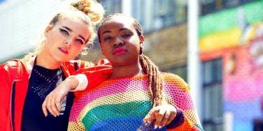 colorful friendship women