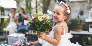 4-Year-Old Flower Girl Stole The Show At Her Mom's Wedding
