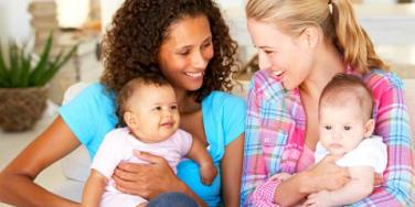 girlfriends with babies