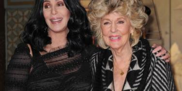 Cher and her mother, Georgia Holt