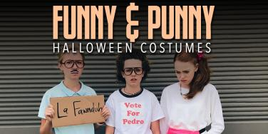 funny halloween costume ideas punny halloween costumes